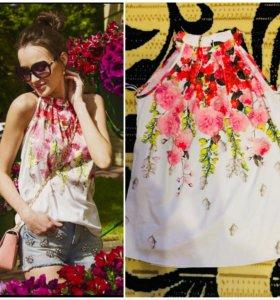 Новая,нарядная блуза Love republic 40-42