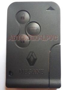 Ключ Renault Megane Clio