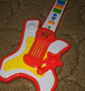 Fisher price гитара