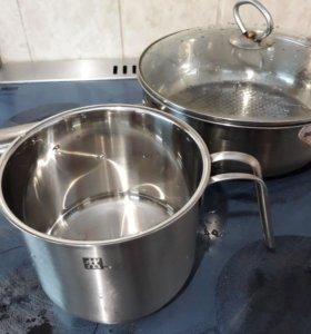 Сковородка и кастрюли