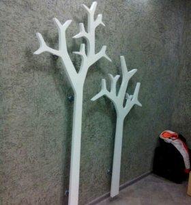 Декор-дерево. Вешалка, Интерьер