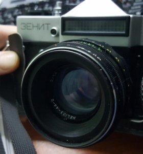 Фотоаппарат зенит ет с чехлом