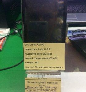 Micro max Q3001