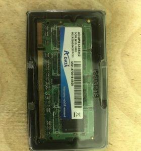 Оперативная память DDR 2 для ноутбука или нетбука.