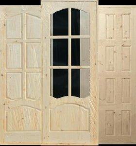 Двери на заказ из дерева