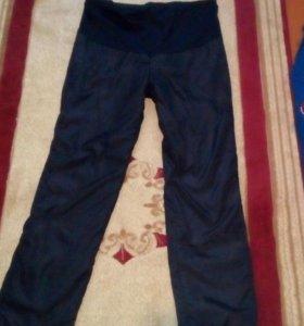 Утепленые штаны для белеменных