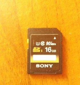 Флешка Sony 16гб