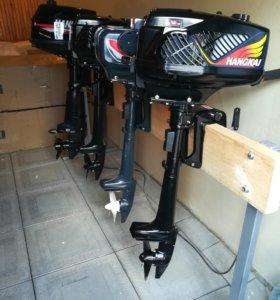 Новые лодочные моторы Ханкай