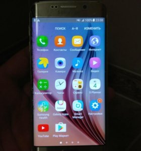 Samsung S6 edge, 32Gb, золото