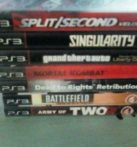 Продам playstation 3 ,три джойстика,7 игр Игры и д