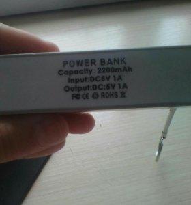 Повер банк на 2200mha