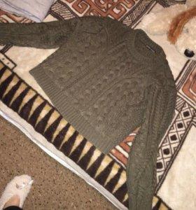Укороченый свитер бершка