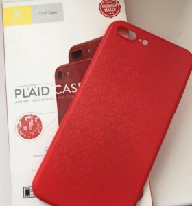 Чехол для iPhone 7 Plus (Baseus Plaid Case)