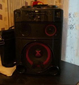 Продам аудиосистему LG