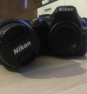 Зеркальная камера NIKON D5200 KIT 18-55 VR