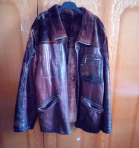 Куртка(кожа-мех) 52-54р