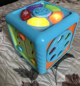 Развивающий куб babygo