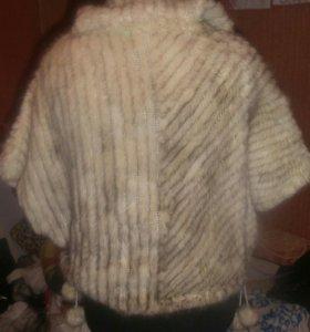Куртка вязаная норка