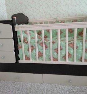 Детская артопедическая кроватка