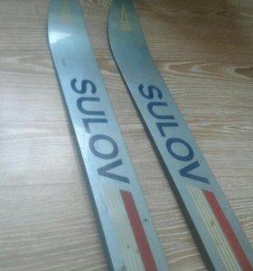 Новые лыжи Sulov чехсловакия
