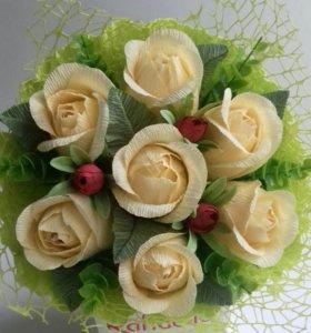 Букет из конфет. Розы.