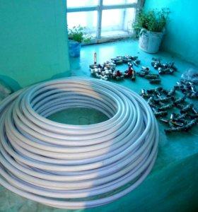 Труба муталлопластиковая Taen 16*2.0 фитинги