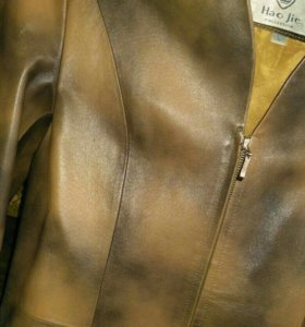 Плащ кожаный 44 размер