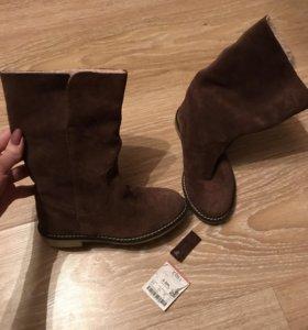 Новые, Zara, 31 размер, Нат замша