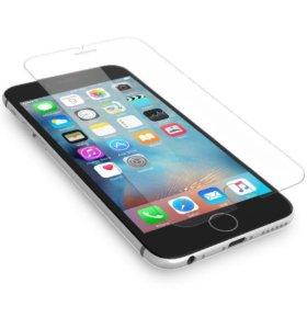Защитное стекло на iPhone 5,6, 7