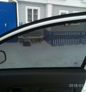 Каркасные шторки на авто.