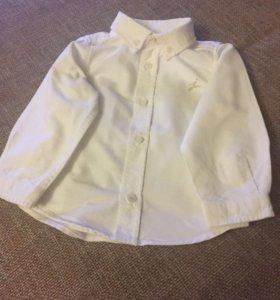 Рубашка детская на 12 месяцев фирменная