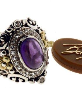 Barbara Bixby кольцо серебро 925,золото 18К