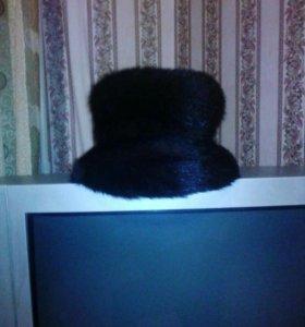 Шапка-шляпа норка