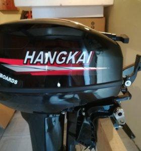 Новый лодочный мотор ханкай 9,9 (15)