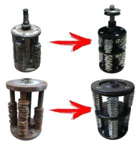 Производство барабанов для фрезеровальных машин
