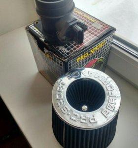 Воздушный фильтр и датчик ДМРВ