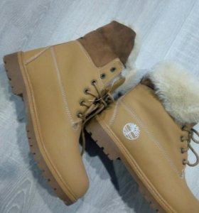 Зимние новые ботинки