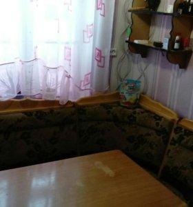 Кухонный уголок из резного массива