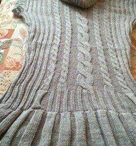 Шерстяное платьице
