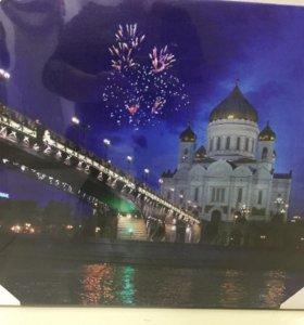 Картина светящаяся Храм Христа Спасителя