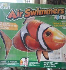 Летающая рыба на пульте управления