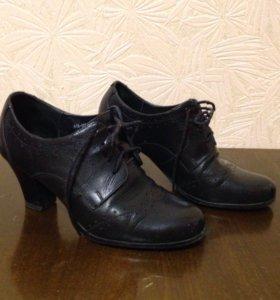 Туфли кожанные. Р-р 37