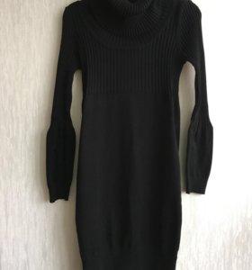 Платье вязаное для беременной