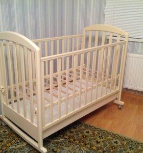 Детская кровать Джованни паполони+матрас