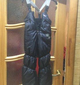 Детские тёплые штаны + куртка зимняя в подарок