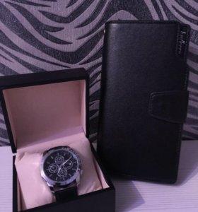 Часы + портмоне