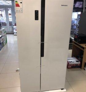 Холодильник SIDE-BY-SIDE Новый Shivaki SHRF-525SDW