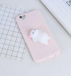 Чехол Антистресс с Игрушкой для Айфона Iphone 6 6s