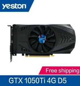 Видеакарта nvidia Yeston GTX1050Ti