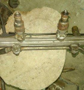 Инжектор и форсунки для Мерседеса мотор 111